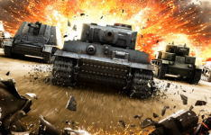 �V��A�N�V�����I�����C���Q�[���uWorld of Tanks�v